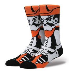 Stance Stance Oklahoma State University Pistol Pete NCAA Socks Mens