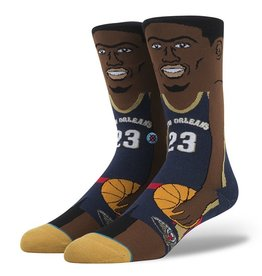 Stance Stance Anthony Davis Socks NBA Legends Cartoon