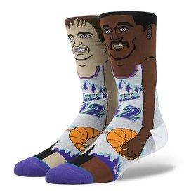 Stance Stance John Stockton Karl Malone Socks NBA Legends Cartoon