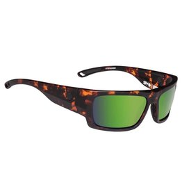 Spy Optic Spy Rover Sunglasses Soft Matte Camo Tort Happy Bronze Polar w/ Green Spectra