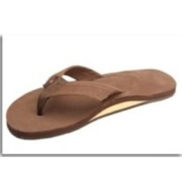 Rainbow Rainbow Sandals Single Layer Premier Leather with Arch Support