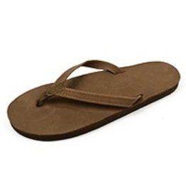 Rainbow Rainbow Sandals Single Layer Premier Leather with Arch Support and a Narrow Strap Womens