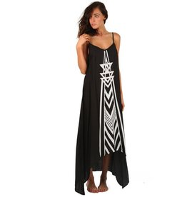 Billabong Billabong Golden Splash Dress Off Black Womens