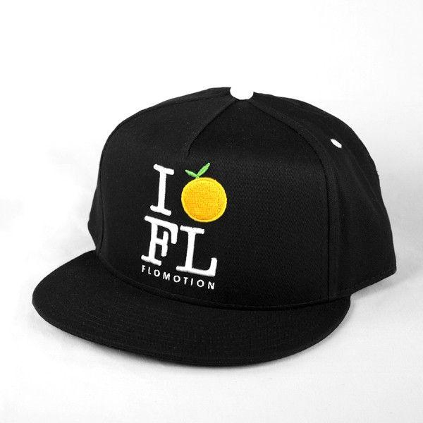 Flomotion Flomotion I Orange FL Snapback
