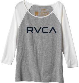 RVCA RVCA Big RVCA Raglan T Shirt Womens