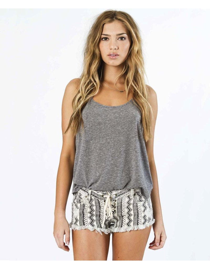 Billabong Billabong Lite Hearted Geo Stripe Denim Shorts