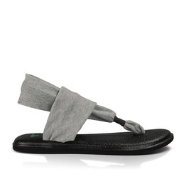 Sanuk Sanuk Yoga Sling 2 Grey Sandals Womens