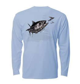 Avid Tuna Sandwich Avidry  Long Sleeve 50+ UPF Fishing Shirt
