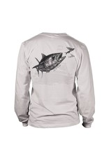 Avid Tuna Sandwich Long Sleeve Fishing Shirt Mens
