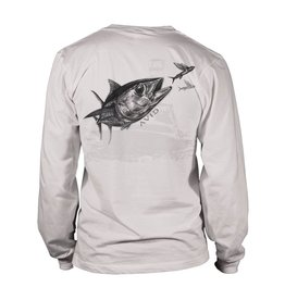 Avid Tuna Sandwich Long Sleeve Fishing Shirt Mens
