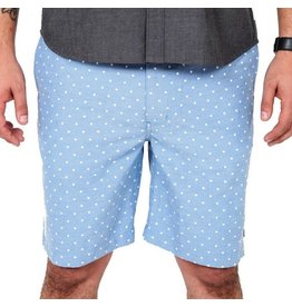 Roark Roark Paladar Shorts Blu Polka Mens