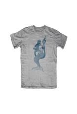 Roark Roark Dead Mermaids T Shirt Heather Grey Mens