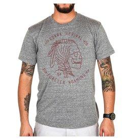 Roark Roark Hobo Nickel T Shirt Heather Grey Mens