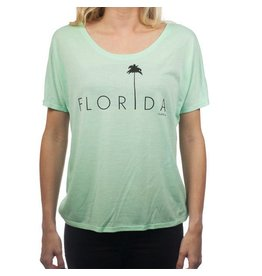 Flomotion Flomotion Palm Flowy Cree Tee Women