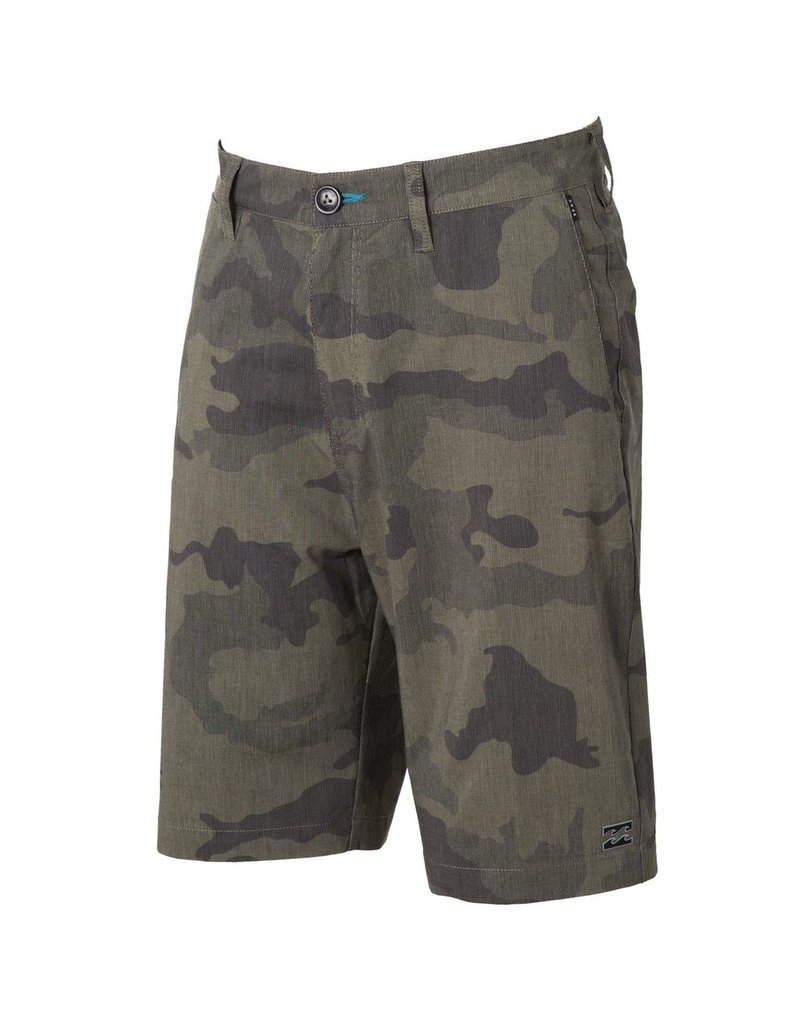 Billabong Billabong Crossfire X Plaid Submersible Short Dark Camo Mens
