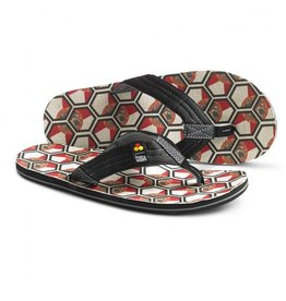 Freewaters Freewaters Channel Islands Palapa Florida Flag Sandals Mens