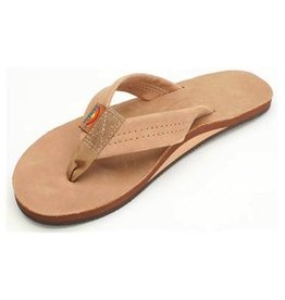 Rainbow Rainbow Sandals Single Layer Premier Leather with Arch Support Womens