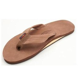 Rainbow Rainbow Sandals Single Layer Premier Leather with Arch Support Mens
