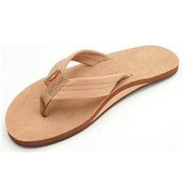 Rainbow Rainbow Sandals Single Layer Premier Leather with Arch Support Sierra Brown Mens