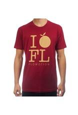 Flomotion Flomotion I Orange FL Tee  Mens