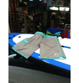 PIT Clothing PIT Surf Shop Boardshorts Performance Series Grey Teal Boys
