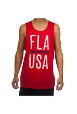 Flomotion Flomotion Fla USA Tank Top Red