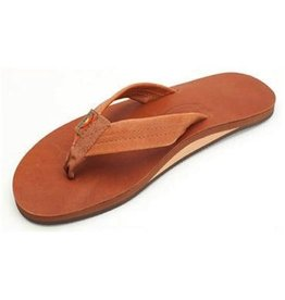 Rainbow Rainbow Sandals Single Layer Classic Leather with Arch Support Mens