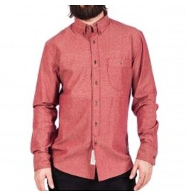 Roark Roark Fiskur Woven Shirt L/S Button Up Mens