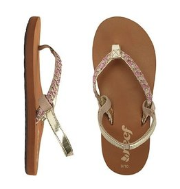 Reef Reef Little Twisted Stars Sandals Kids Girls