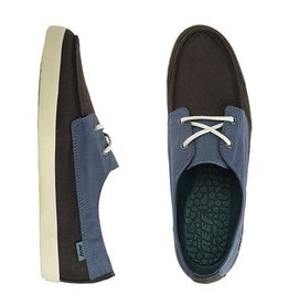 Reef Reef Deckhand Low Casual Shoes Charcoal Orion Guys New