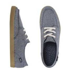 Reef Reef Deckhand 2 TX Casual Shoes Navy Grey White Guys