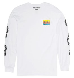 Billabong Billabong Channeled Long Sleeve Tee Mens