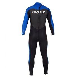 Rip Curl Rip Curl Omega Back Zip Flat Lock 3/2 Wetsuit Mens Size LS