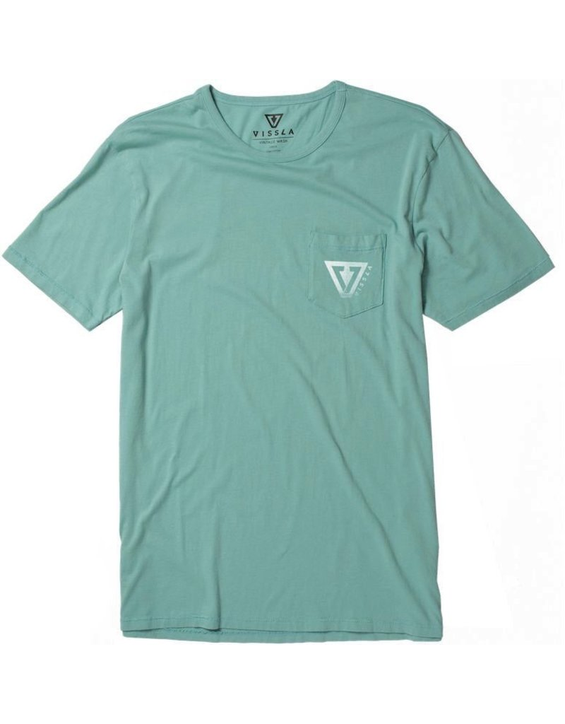 Vissla Vissla Established Vintage Wash Pocket Tee Mens