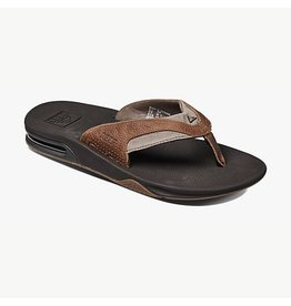 Reef Reef Leather Fanning Sandals Mens Full-Grain Leather