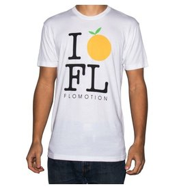 Flomotion Flomotion I Orange FL Tee  Mens