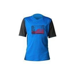 XCEL Xcel BOY'S PIDLEYS PREMIUM 6OZ S/S Nautical/Black Rashguard