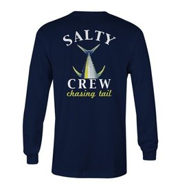 Salty Crew Salty Crew Chasing Tail Fish Tech Long Sleeve Shirt