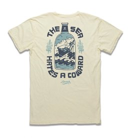 Roark ROARK REVIVAL THE SEA HATES A COWARD TEE Mens
