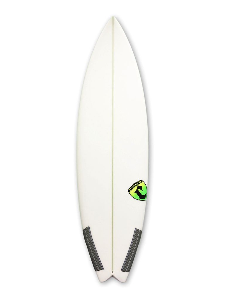 Cronin Surfboards Cronin Surfboards 5'9'' Arrow No Stringer Epoxy Carbon Clear 5 Fin FCS II