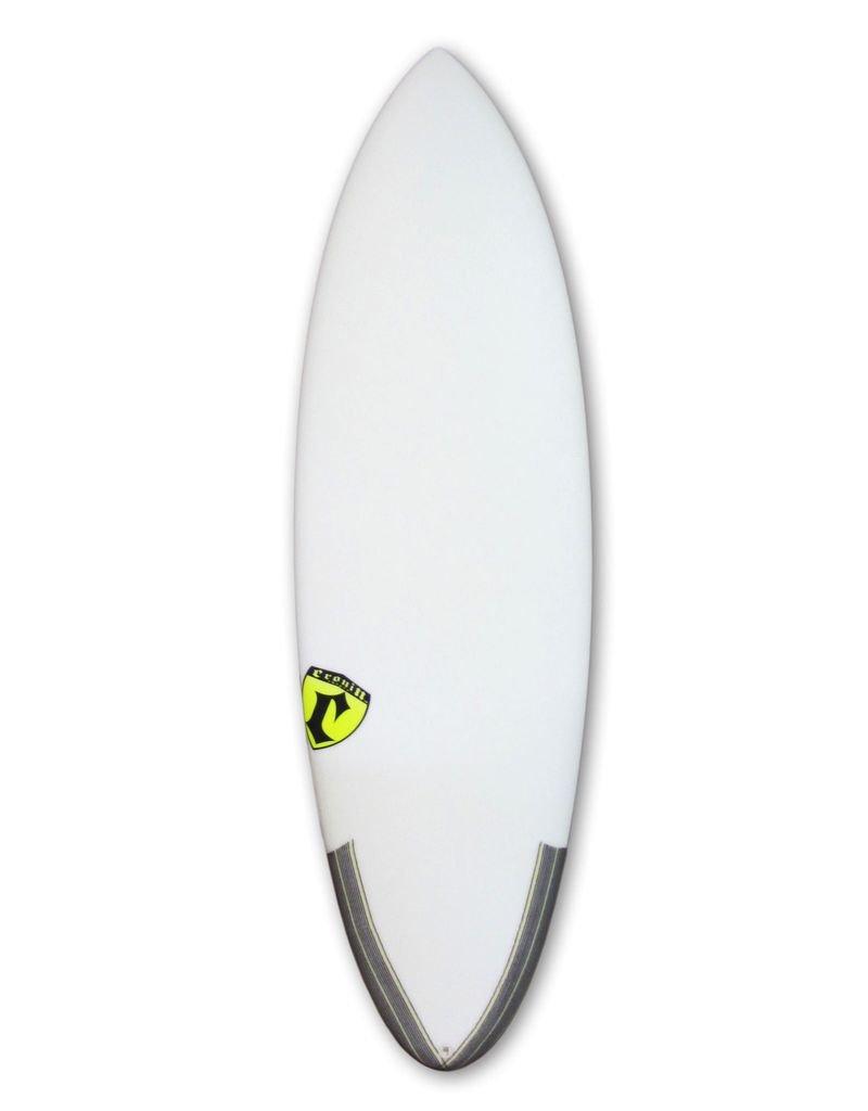 Cronin Surfboards Cronin Surfboards 5'8'' Spear No Stringer Epoxy Carbon Clear 5 Fin FCS II
