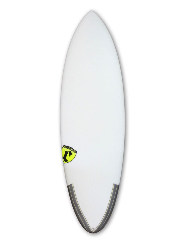 Cronin Surfboards Cronin Surfboards 5'8'' Spear No Stringer Epoxy Carbon Clear 5 Fin FCS II