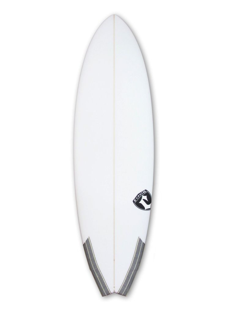 Cronin Surfboards Cronin Surfboards 5'4'' Spear No Stringer Epoxy Carbon Clear 5 Fin FCS II