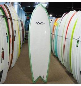 Dolsey Dolsey 6'0 EPS Fish surfboard green