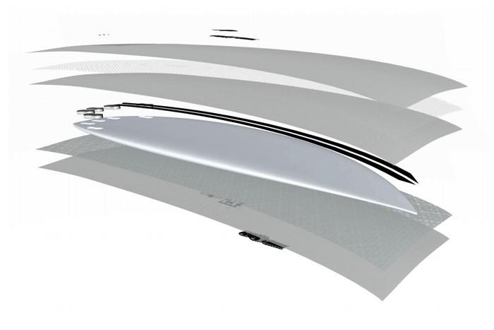 "JS Industries JS Monsta Box HyFi 6'3"" x 20 1/2"" x 2 11/16"" 36.4 Litres FCS II  Short Board Surfboard"