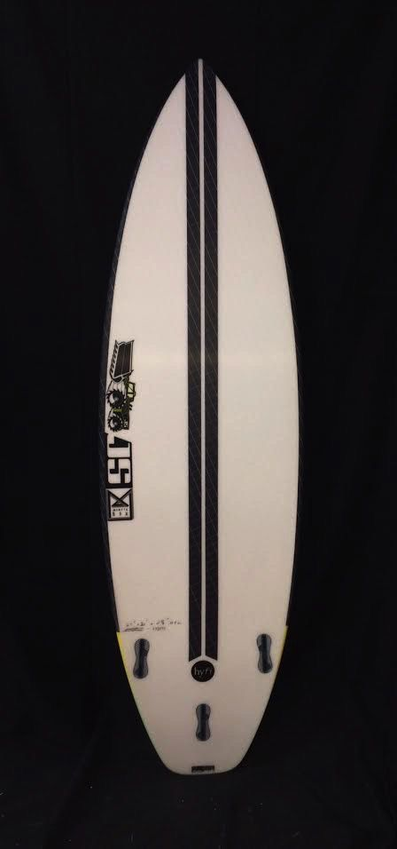 "JS Industries JS Monsta Box Hyfi 6'1"" Short Board Surfboard FCS 2 Fins"