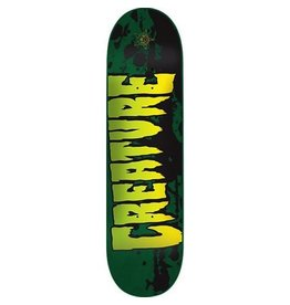 "Creature Creature Stained MD Green Team 8.25"" Skate Board"