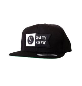 Salty Crew Salty Crew Alpha Patched Hat