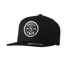 Salty Crew Salty Crew Top Water Patched Hat Black