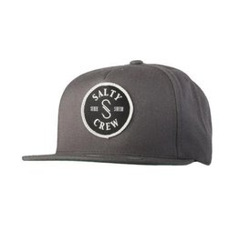 Salty Crew Salty Crew Topwater Patched Hat Charcoal